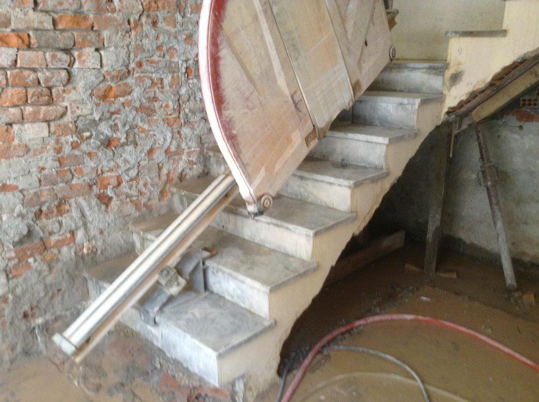 Taglio Solaio Per Scala taglio scala x vano ascensore | deco demolizioni